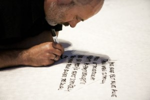Automatic Writing - Ron Athey © Roshana Rubin-Mayhew_148