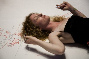 Automatic Writing - Ron Athey © Roshana Rubin-Mayhew_151