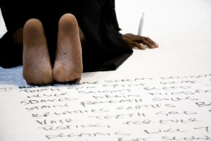 Automatic Writing - Ron Athey © Roshana Rubin-Mayhew_71